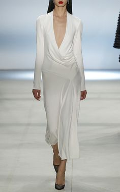 Grace Matte Dress by CUSHNIE ET OCHS Now Available on Moda Operandi