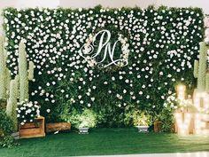 Reception Stage Decor, Wedding Reception Backdrop, Ceremony Backdrop, Engagement Stage Decoration, Wedding Hall Decorations, Wedding Backdrop Design, Wedding Stage Design, Outdoor Indian Wedding, Flower Wall Wedding
