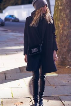 Camille Over the Rainbow - love this! the beanie, the bag, the coat .. ALL