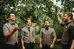 Rustic Autumn Wedding Inspiration in Rich Shades of Fall