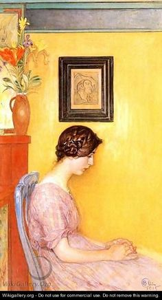 Kersti 1915 - Carl Larsson