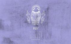 MAY - 2014 Calendar - Cristina de Lera