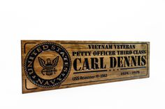 US Military plaques and Signs Military Signs, Us Military, Garage Signs, Us Marine Corps, Vietnam Veterans