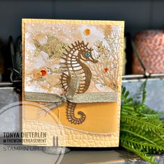Horse Cards, Nautical Cards, Beach Cards, Stampin Up Catalog, Friends Are Like, Card Making Inspiration, Masculine Cards, Stamping Up, Beach Themes