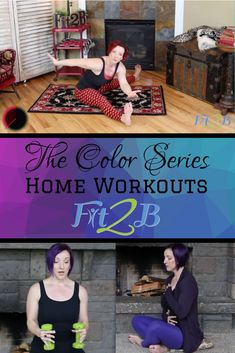 """""""Color Series"""" of Home Workouts - Fit2B.com - Looking for something different for your cardio summer home workout? How about adding some color to your weight lifting fitness routine? As always, Fit2B workouts are tummy safe and diastasis friendly. #fitnessjourney #fitnessmotivation #bodypositive #strongnotskinny #homefitness #homeworkouts_4u #healthylifestyle #coreworkouts #abworkout #fitmom #healthylife #healthylifestyle #cardio #armworkout #diastasis #diastasisrecti Diastasis Recti Exercises, Pelvic Floor Exercises, Back Exercises, Fitness Tips, Fitness Motivation, Life Motivation, Anytime Fitness, At Home Workouts, Core Workouts"""