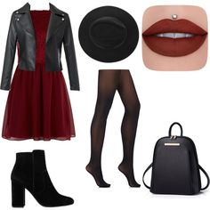 A fashion look from January 2017 featuring New Look dresses, Wolford tights and MANGO ankle booties. Browse and shop related looks.