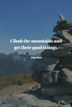 Climb the mountains and get their good tidings. Nature's peace will flow into you as sunshine flows into trees. The winds will blow their own freshness into you, and the storms their energy, while cares will drop off like autumn leaves. ~John Muir  #qotd #quotes #hike #outdoorvancouver #explorebc  #pnw #pnwonderland  #hellobc #keepitwild #explorecanada  #johnmuir #climb #mountains
