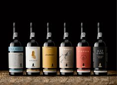 The Dieline Awards 2016 Outstanding Achievements: Sandeman 225th Anniversary Collection — The Dieline - Branding & Packaging