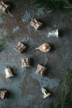 DIY | Recycled Egg Carton Ornaments on A Daily Something