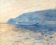 La Baie de Monaco - Claude Monet