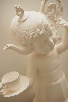 Pin By Luna Marie On Maria Rubinke Pinterest Art - Amazingly disturbing porcelain figurines by maria rubinke