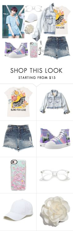 """""""EXID(이엑스아이디)] 낮보다는 밤 (Night Rather Than Day)"""" by slmsna ❤ liked on Polyvore featuring Gucci, Hollister Co., River Island, Casetify, Sole Society and Cara"""