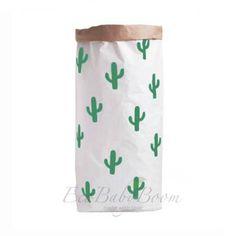 GRATIS verzending Cactus grote papieren zak opslag door EcoBabyBoom