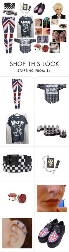 """""""creepypasta book"""" by dinobuggy ❤ liked on Polyvore featuring Religion Clothing and Hot Topic"""