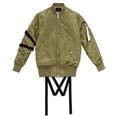 Stampd strapped bomber jacket, $330 stampd.com