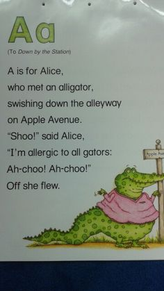 1000+ images about ABC Alliteration Poems on Pinterest ...