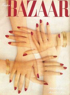 Harper's Bazaar October 1947 - Alexey Brodovitch