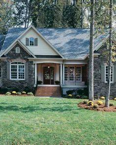 Cottage House Plan from BuilderHousePlans.com 2097sqft