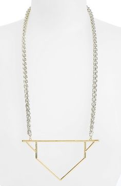 { Geometric Necklace }