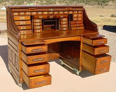 antique rolltop desk - Google Search