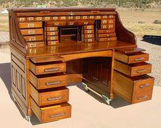 roll top desk vintage - Google Search