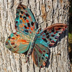 Copper butterfly by Nature Art Studios, via Flickr