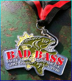 another awesome racing medal. - Brazen racing has the best medals!