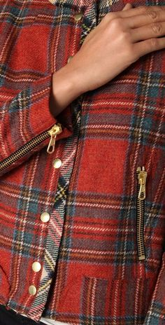 Rag & Bone Harvard Plaid Jacket