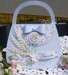Pretty Box, Ideas Para, Diaper Bag, Happy Birthday, Paper Crafts, Packaging, Bows, Handbags, Purses