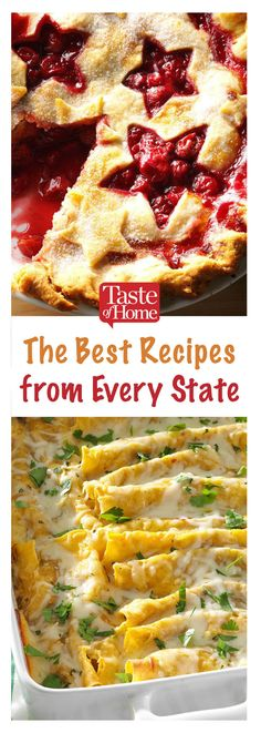 We found the best recipes from every state in America. Each collection includes both iconic regional dishes and treasured family recipes. Easy Dinner Recipes, Easy Meals, Easy Recipes, Vegan Recipes, Cooking Recipes, Cooking Corn, Cooking Steak, Cheese Recipes, Drink Recipes