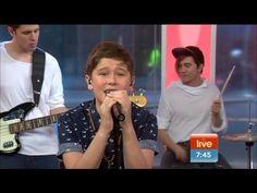 Jai Waetford sings LIVE!