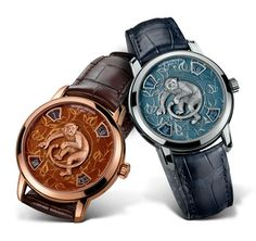 A suíça Vacheron Constantin lançou edição limitada de relógios para celebrar o ano do macaco. Confira os detalhes dessas verdadeiras obras de arte. #relógios #relógiosdeluxo #relógiosmasculinos #relógiosimportados #luxo #colecionismo