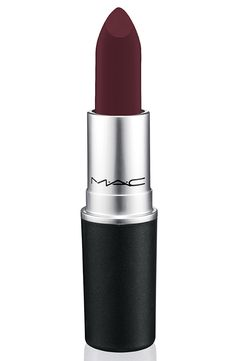 MAC Nasty Gal Collection: 3 Dark and Vampy Matte lipsticks!!!!! Runner burgundy (matte)
