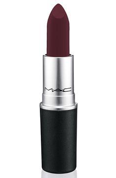 Mac Matte Lipstick in Fashion Revival, Mac Satin Lipstick, Nude Lipstick, Lipstick Shades, Lipstick Lighter, Winter Lipstick, Lipstick Brands, Liquid Lipstick, Makeup Eyes, Beauty Makeup