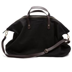 Cuyana Canvas and Leather Weekender Bag: Gardenista