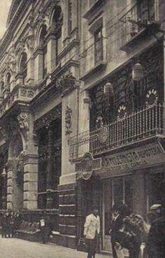 Fachada del Casino de Murcia a principios del siglo XX2 de 2
