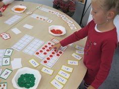 ACTIVITES MATHEMATIQUES EN GRANDE SECTION Maternelle Grande Section, Math Words, Math Centers, Kids Learning, Middle School, Activities, Games, Children, Smurf Village
