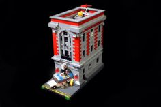LEGO, Ecto-1,Ghostbusters, LEGO, GHOSTBUSTERS, ORION PAX, ECTO-1,ECTOPLASMA,STAY PUFT