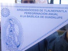 Unidos en la #Fe toda la #ArqTl caminamos en peregrinación a la #BasilicaDeGuadalupe junto a nuestro párroco el Pbro. José de Jesús Fuentes Rios y de nuestro Excmo. Sr. Arzobispo Carlos Aguiar Retes y sus obispos auxiliares Francisco y Efraín.