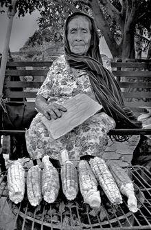 Mujer representativa de las tradiciones mexicanas