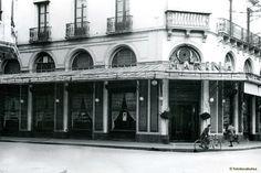 Café de la Marina - Fachada en 1945