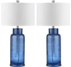 Safavieh Bottle Glass Table Lamp