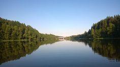 River Kymijoki in Southern Finland summer 2014.