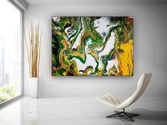 Original Abstract Wall Art-Large Artwork on Canvas Dine Room image 1 Large Abstract Wall Art, Large Artwork, Colorful Artwork, Extra Large Wall Art, Large Painting, Original Paintings, Original Art, Canvas Art, Large Canvas
