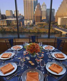 Lady Bird Lake dining view. #Foothills #Hyatt #Austin #venue