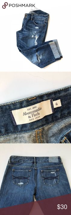 Abercrombie & Fitch Capri jeans Euc I always ship my items in 1-2 days If your interested make me an offer through the offer button   And sorry no trades Abercrombie & Fitch Jeans Ankle & Cropped