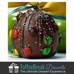 M&M Chocolate Caramel Apples taste as good as they look! Enjoy a fun decorated apple at your next celebration.