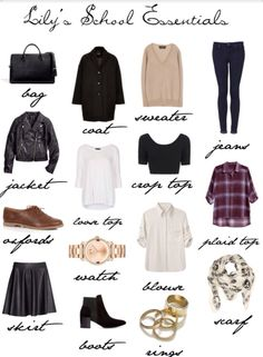 I wish i could just have everything in this picture Creds to lily-collins-style tumblr page