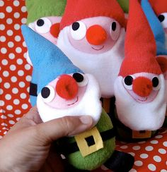 Awesome little plushie gnomes.