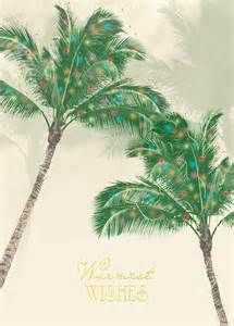Holiday Palms Tropical Christmas Card - Sayings For You, Inc.